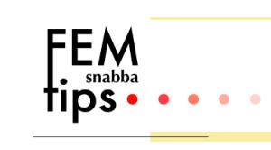 FemSnabbaTips